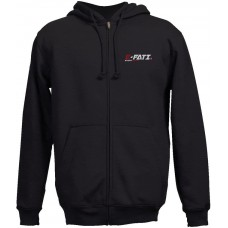 E-FATI embroidered hooded sweatshirt