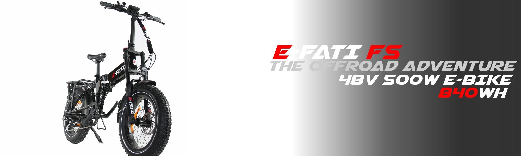 e-fati fatbike électrique pliable
