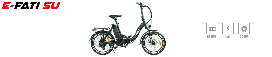 e-fati electric folding bike